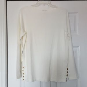 Susan Graver white sweater
